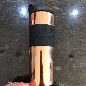 Bodum Copper Metallic Travel Mug